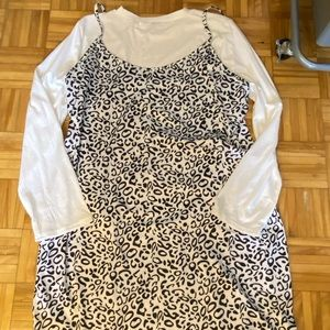 Brand new SHEIN two piece dress and longsleeve top